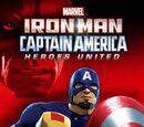 MARVEL COMICS: Heroes United Iron Man & Captain America