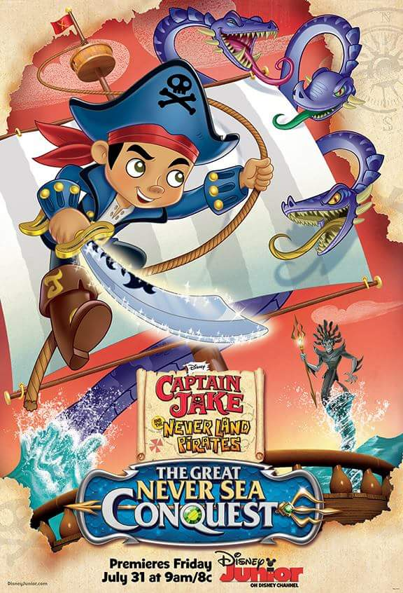 Captain Jake and the Never Land Pirates: The Great Never Sea Conquest ...