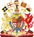 Imperial-Royal Coat of Arms of England by eric4e (Wales and Cornwall) - Sugar Rush CoA.png