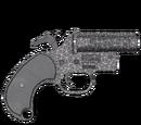 Pistolet sygnałowy - skórka Crackle