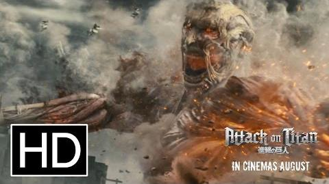 Attack on Titan (Live-Action Movie) - Official Full Trailer