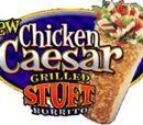 Chicken Caesar Grilled Stuft Burrito