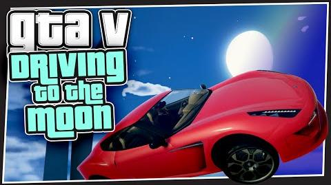 GTA 5 Online - Driving to the moon (GTA Custom Games)