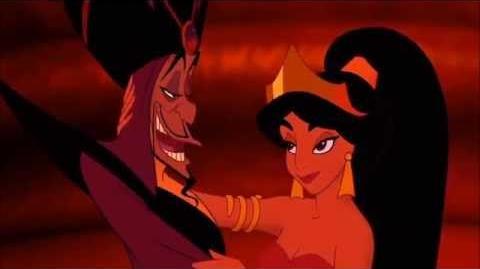 Aladdin - Jasmine Kisses Jafar HD