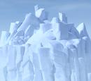 Gletscher-Insel