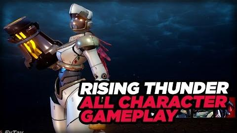 Rising Thunder - Meet the Robot Fighters Gameplay