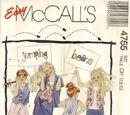 McCall's 4755