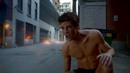 Plastique blows up Barry Allen's Flash suit.png
