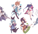 Blue Sun Street Characters