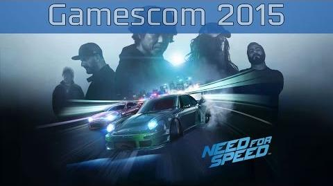 Need for Speed - Gamescom 2015 Trailer HD 1080P
