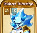 Stubborn Triceratops