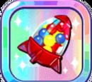 Colorful Mini Gumball Missile