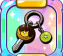 Vroom Vroom Gold Kiwi Key