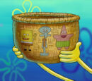 SpongeBob's Weaved Basket