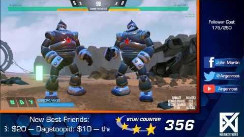 Rising Thunder - Vlad Tutorial Part 2- Hover Mechanics & Combos (Part 1)