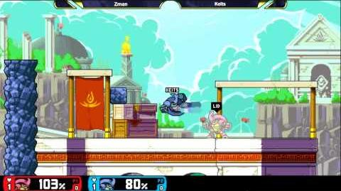 Rivals Of Aether Evo Invitational GRAND FINALS Keits (Blue) vs Zman (Red) Kragg Ditto ALPHA