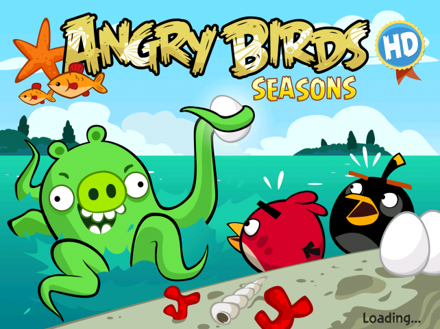 Angry birds seasons - фото 2