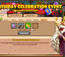 Birthday Celebration Event