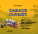 Karate Clumsy