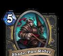 Shado-Pan Rider