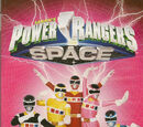 Power Rangers: En el espacio