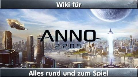 Anno 2205 Wiki - Infovideo denn nicht jeder kennt es wohl