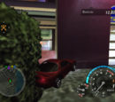 Quedar atascado en la pared (Need for Speed: Underground 2)