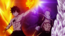 Gray and Natsu protect each other.png