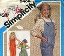 Simplicity 6484 A