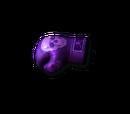 Gloves-Purple Skull