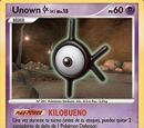 Unown K (Maravillas Secretas TCG)