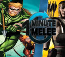 ONE MINUTE MELEE: Green Arrow vs Kung Jin