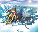 SOA Kellyn riding on Empoleon on Ice Lake.png