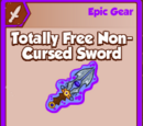 Totally Free Non-Cursed Sword