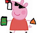 Peppa noscopes her parents