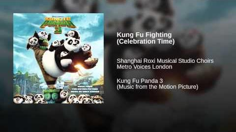 Kung Fu Fighting (Celebration Time) - 21 KFP3 soundtrack