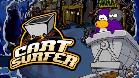 Club Penguin Music OST- Cart Surfer Theme 2012