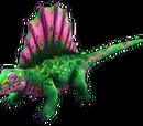 Green Dimetrodon