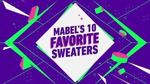 Gravity Falls - Mabel's Favorite Sweaters