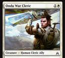 Ondu War Cleric