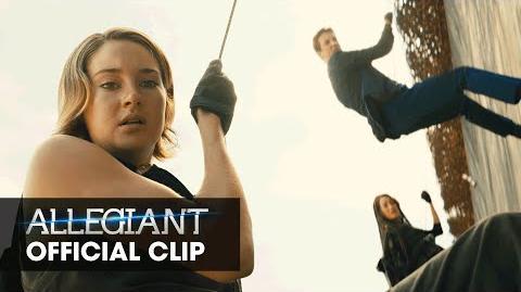 """The Divergent Series Allegiant Official Clip – """"Generator"""""""
