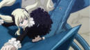 Mavis and Zera climb the Blue Skull Dragon.png