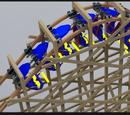 Inverted Wooden Coaster