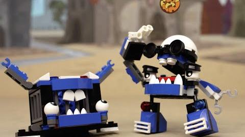 LEGO® Mixels - Wild Cookeroni Chase in Downtown Mixopolis! Series 7 Mini Movie 1