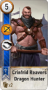 Tw3 gwent card face Crinfrid Reavers Dragon Hunter.png