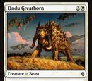 Ondu Greathorn