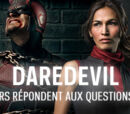 Hypsoline/Daredevil : les acteurs répondent aux questions des fans