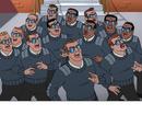 Secret Service Look-Alike Foot Soldiers