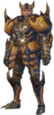 MHO-Tigrex Armor (Blademaster) (Male) Render 001.png