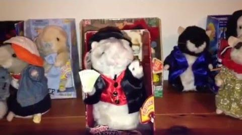 "Gemmy Animated ""Maverick"" The Dancing Hamster (The Gambler)"